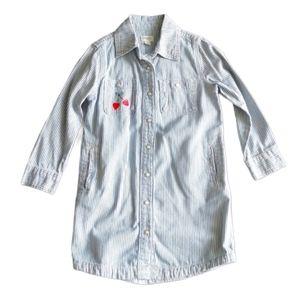 3/$40 - Gymboree Oversized Denim Shirt